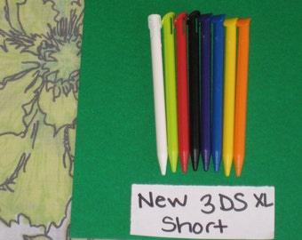 1 - One Plastic Short New 3DS XL Stylus Pen Only