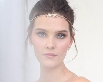 Crystal Headband , Bridal Headband, Wedding Headband, Wedding Hair Piece, Bridal Headpiece, Headpiece,hair jewelry