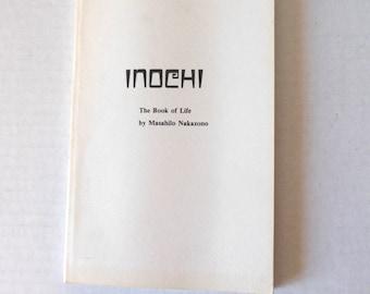 Inochi The Book Of Life Rare Book Bhuddist Shintoist