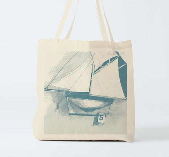 Boat. Tote Bag, Cotton bag, canvas bag, beach bag, groceries bag, clutch, hand bag, novelty gift, gift coworker, gift women, gift besties.