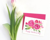 Mother's day card floral, Mother day card, Mother day card, Happy mothers day card, Mother day card with flowers, Cards for mom
