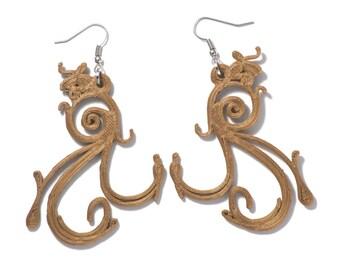 Her Charms (Pair) Hook Earrings
