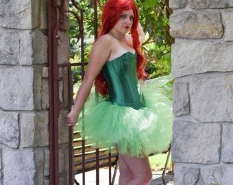 Halloween Tutu - Green Costume- villain Tutu - Adult Tutu -  Costume- Ivy tutu- Color Run Tutu -Running Tutu -5K Tutu-Tutu-Fun Run Tutu
