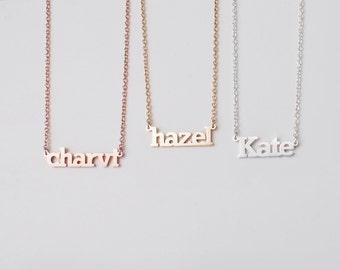 20% OFF Custom Name Necklace - Personalized Name Jewelry - Your Name on Necklace - Children ...