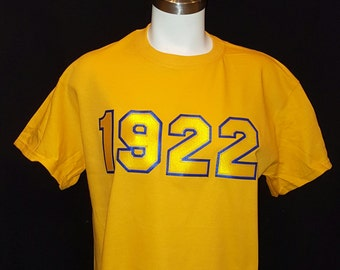 Sigma Gamma Rho 1922 APPLIQUE