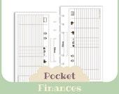 Finances - Pocket size - Printable