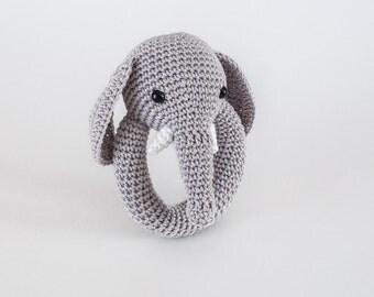 Elephant Teether Etsy