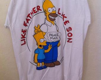 90s Bart Simpson, Simpsons, The Simpsons, Homer Simpson, 90s Grunge, Simpsons Shirt, Bart Simpson Shirt, Vintage Graphic Tee, Simpson Tshirt