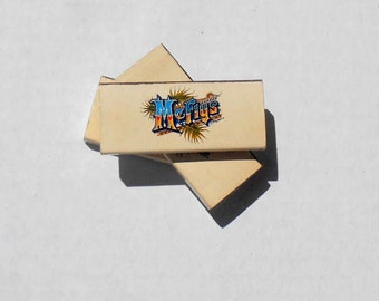 "Three Vintage Matchboxes // ""McFly's"" // Marty McFly // Back To The Future //"