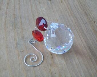 Crystal Feng Shui Ball, 30mm Crystal Prism Ball, Window Rainbow Maker Suncatcher, Light Catcher