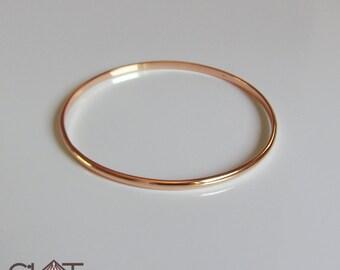 Rose Gold Bangle Gold Bangle Bracelet Gold Bracelet Bangle Bracelet bangle rose gold bangle bangles gold bangles 14k gold bangle bridesm