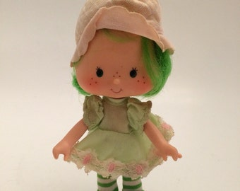 1980's Strawberry Shortcake original  Lime Chiffon Vintage Doll