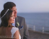 Caitline  Rhinestone bridal headband, wedding headband, wedding hair accessories, crystal headband