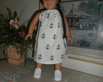"18"" Doll Dress - Pillowcase-Drawstring"