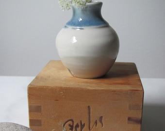 Teeny Porcelain Bottle