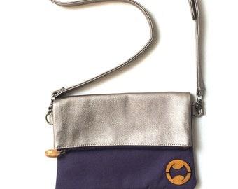 canvas crossbody bag & travel purse