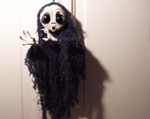 Ghost Ornament - Halloween Decoration - Halloween Ornament - MADE TO ORDER