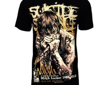 Suicide Silence - Mitch Lucker tribute Rock Band Unisex Tee TShirt