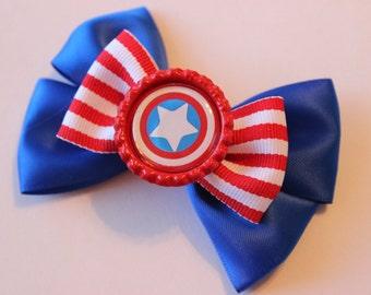 Captain America Inspired Bow
