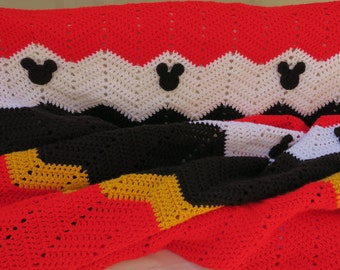 Mickey Mouse Ripple Blanket