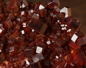 Beautiful Vanadinite Mineral Specimen