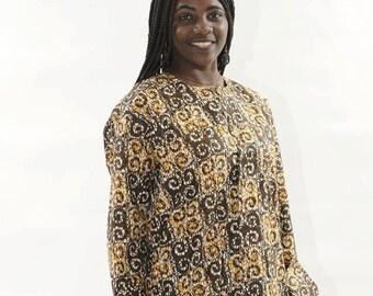 African Print Shirt African Clothes