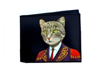 Gentleman Cat Wallet