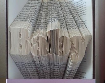 Book Folding Pattern - Baby + Free Tutorial