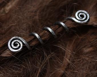 Viking Hair Beads SAH • Hair jewelry • Hair accessories • Viking jewelry • Viking beads • Beard jewelry • Beard beads • Dread beads • Viking