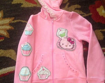 Custom hello kitty jacket