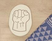 Hulk Cookie Cutter - Marvel Comics Avengers Geek Superhero Symbol Super Hero Sign Fist Baking Supply - 3D Printed