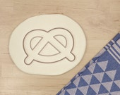 Pretzel Cookie Cutter - Different Sizes Classic Food German Marge Simpson Simpsons Salty Snack - 3D Printed