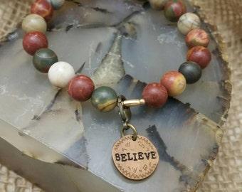 Jasper Believe Bracelet