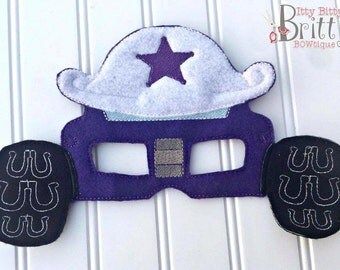 Starla - Blaze and the Monster Machines inspired mask