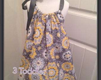 Flowered Pillowcase Dress