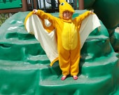 Pterodactyl Dinosaur Wings Costume Kids Ages 3 to 8