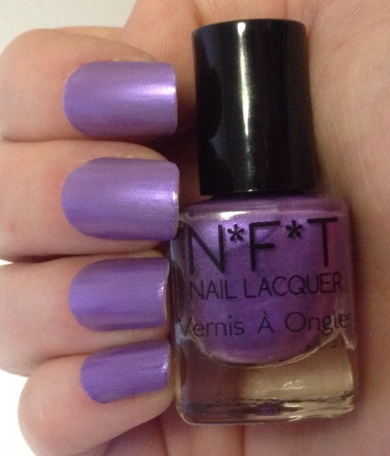 Passion Nail Polish: N32 Purple Passion Purple Nail Polish / Indie Lacquer From