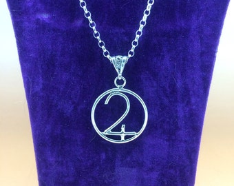 Handcrafted Sterling Silver Symbol of Jupiter, Hallmarked.