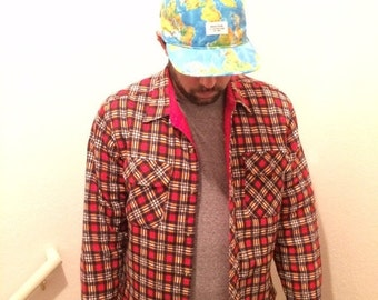 Insulated flannel jacket