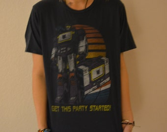 Lets get this party started Robot Festival College t-Shirt
