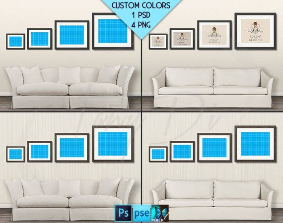 Wall Display Guide Wdg01 Sofa Interior 4 Print Sizes 8x10