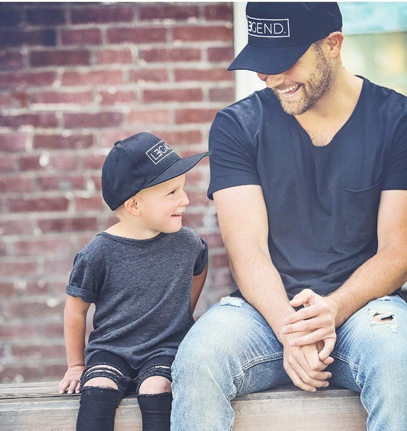 father and son hats legend and legacy hats by tolittlearrows. Black Bedroom Furniture Sets. Home Design Ideas