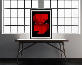 Laibach / screenprint poster