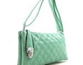Crossbody compartment purse
