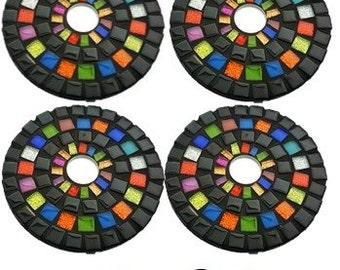 Mosaic Round Coasters  Rainbow Ritz - Kit-Set