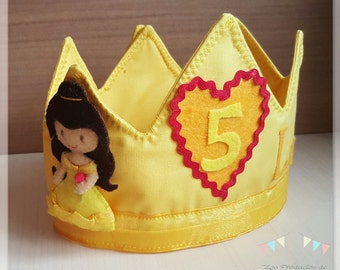 Crown birthday Bella (beauty and the beast)