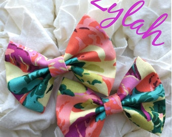 Zylah mini bows on Clip