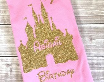 Birthday Princess, Princess Shirt, Birthday Shirt, Birthday Gift, Birthday, Disney Vacation, Fairy Birthday Shirt, Fairy Shirt, Rainbow, Age