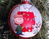 Charlie Brown Ornament, Charlie Brown, Snoopy Ornament, Snoopy, Charlie Brown Christmas, Holiday Ornament, Christmas Ornament