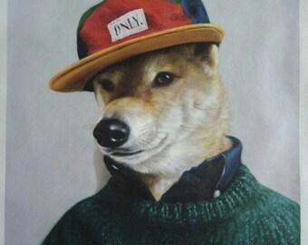 Custom pet oil portrait painting-Original pet portrait from your photos-Hand painted oil painting on canvas-Dog,Cat,Horse portrait and etc